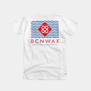 Bcn Wax Stand Tee Color White