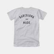 Barcelona Made Tee Color Grey