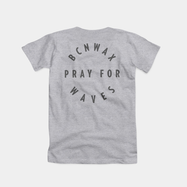 Rounded Pray tee Color Grey