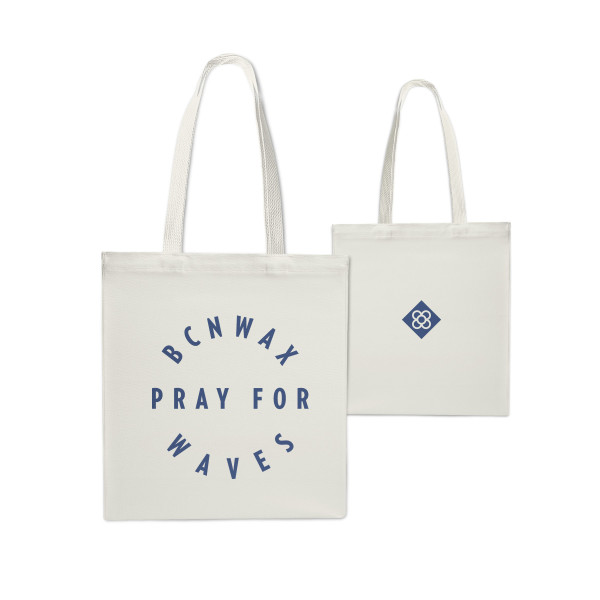 Tote Bag Rounded Panot Blue