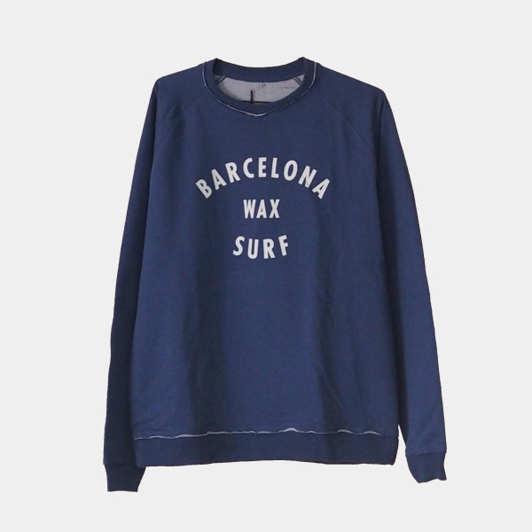 Barcelona Surf Sweatshirt Color Blue